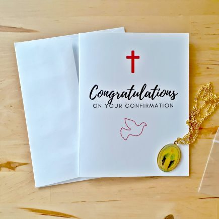 confirmation congratulations card