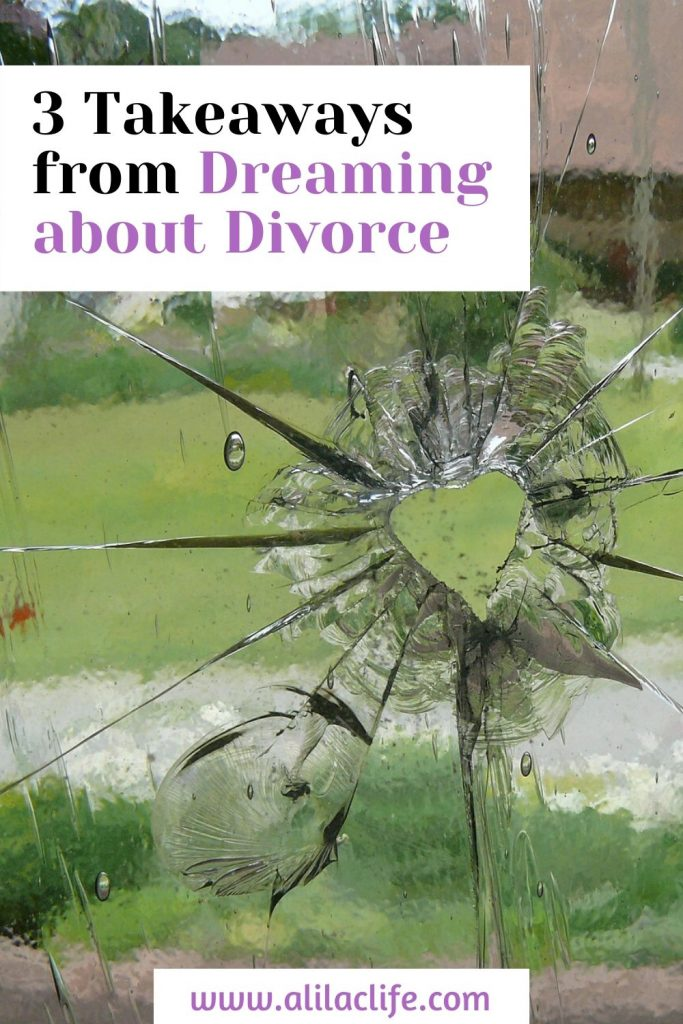 divorce dream analysis