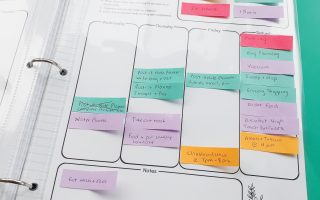 Post-It Note Planning