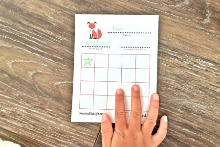 Star Chart Toddler